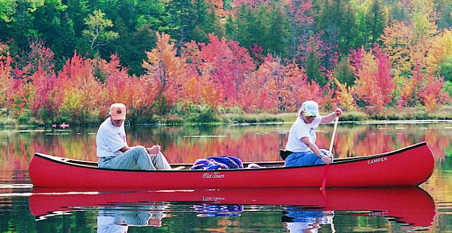 Enjoy Maine's Fall Colors
