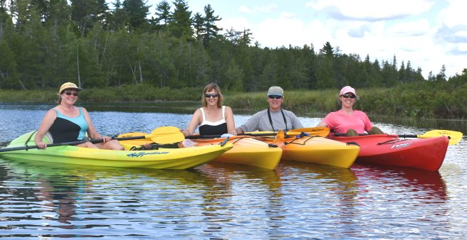 Free Canoes & Kayaks Available for our Guests