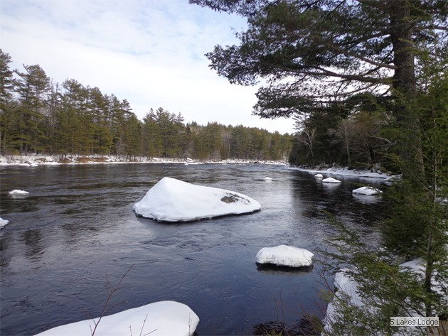 West Branch Penobscot River on ITS-86