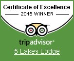 Click to read about our Certificate of Excellence from TripAdvisor